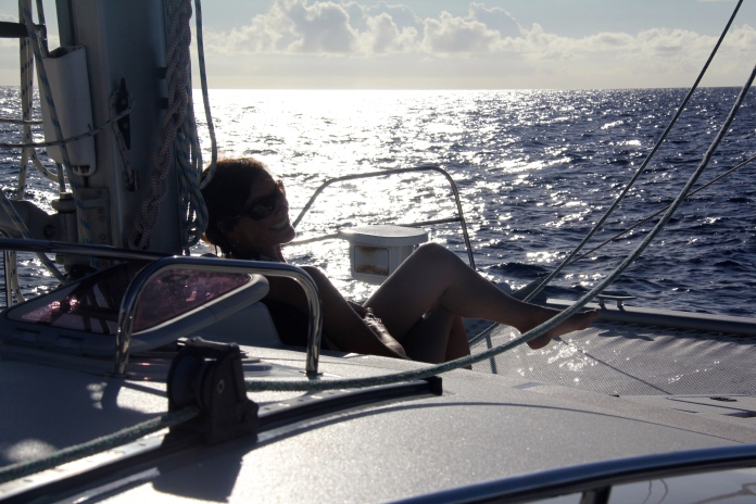 Sailing North to Dominica