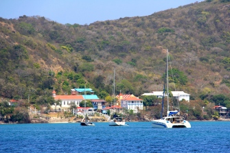The main town of Providencia