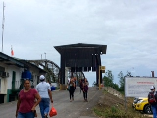 Panama / Costa Rica border crossing